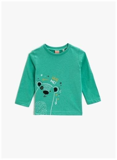 Koton Koton T-Shirt Yeşil